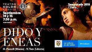 Opera DIDO Y ENEAS | Teatro Colon Bogotá