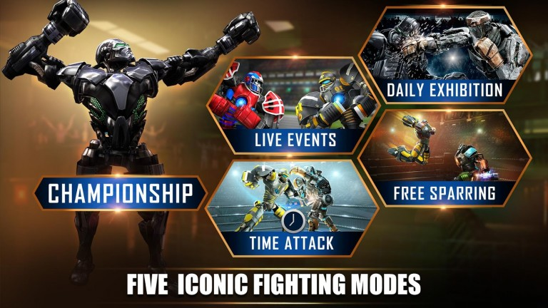 REAL STEEL WORLD ROBOT BOXING MOD APK 29 29 800 - Mod