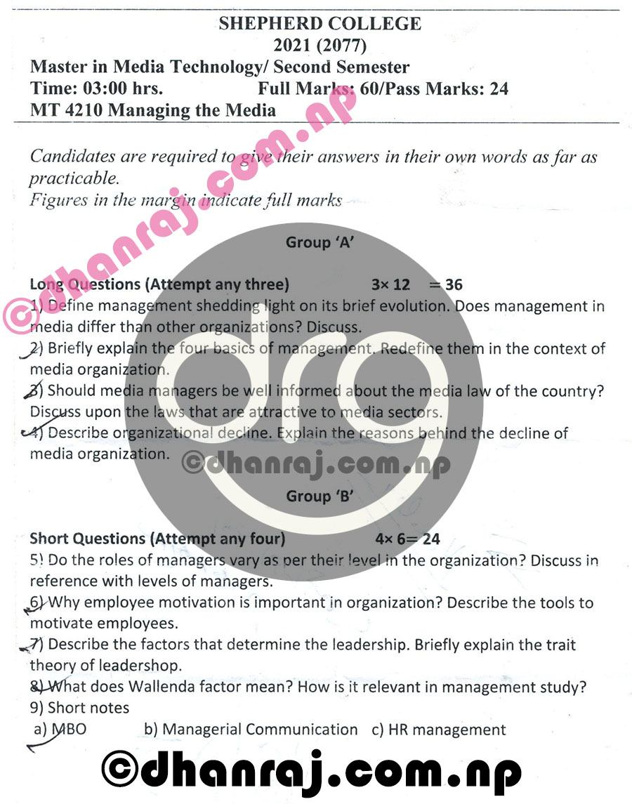 managing-the-media-mt4210-question-paper-internal-examination-2077-2021-shephard-college