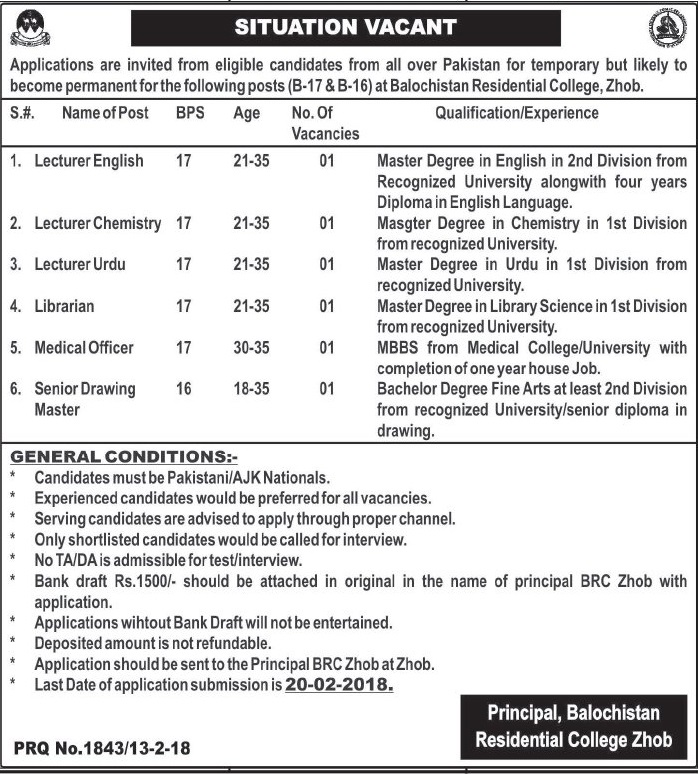 February 2018 Government Jobs