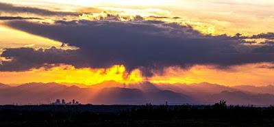 Sunday Sunset on the Front Range