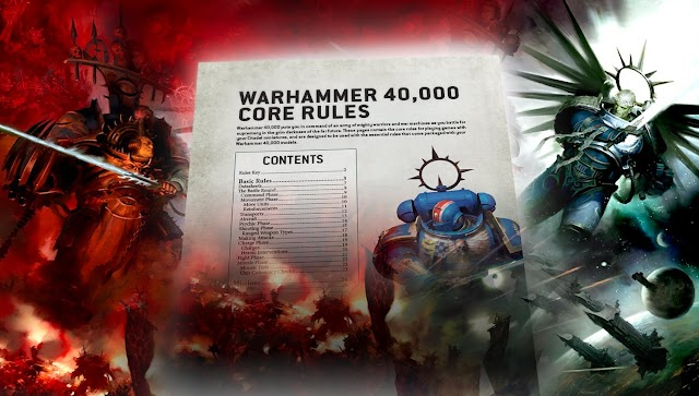 9th Edition Core Rules- Free Download + New Models Revealed