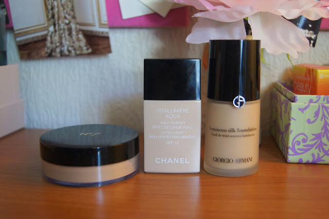 Best foundations, top 3 swatches