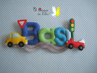 nombre-Basi-fieltro-elbosquedelulu-hechoamanoparati-decoración-infantil-regalo-personalizado-name-banner-felt-feltro