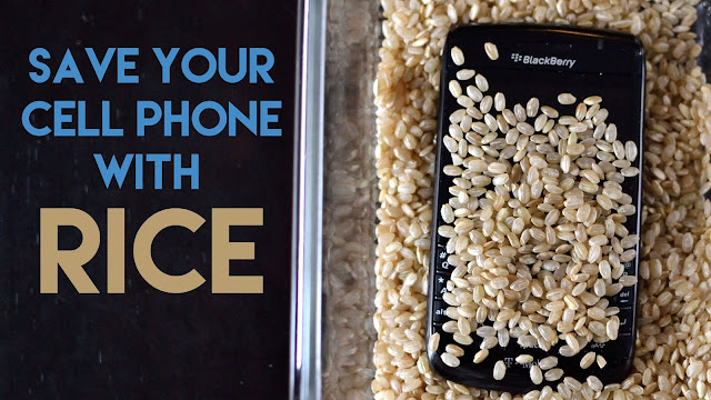 Wet Smartphone? Try The Rice Treatment!