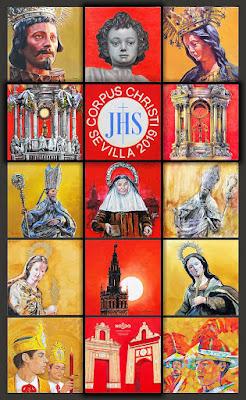 Sevilla - Corpus Christi 2019 - Trabajo colectivo