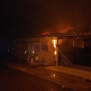 Lima Rumah Terbakar Di OKI