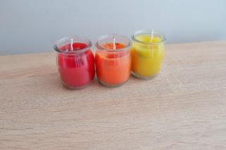 świeczki z resztek diy less waste