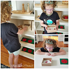 """Introducing our Montessori Fraction """"Treasure"""" Boxes"""