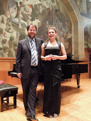 Sholto Kynoch and Raphaela Papadakis- photo courtesy of Helen Abbot