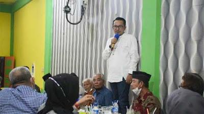Bupati Tanah Datar Silaturahmi dengan IKLB dan IWTD Pekanbaru