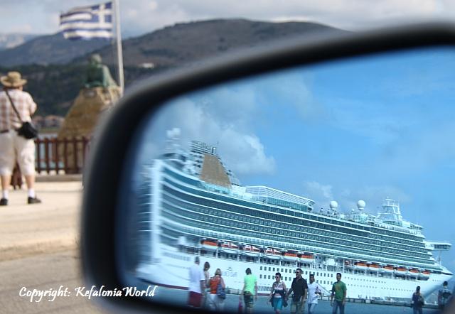 Kefalonia cruise ships