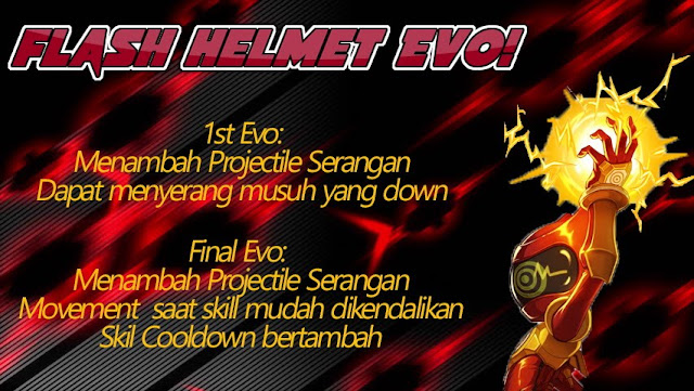 Flash Helmet Evolution Lost Saga Indonesia