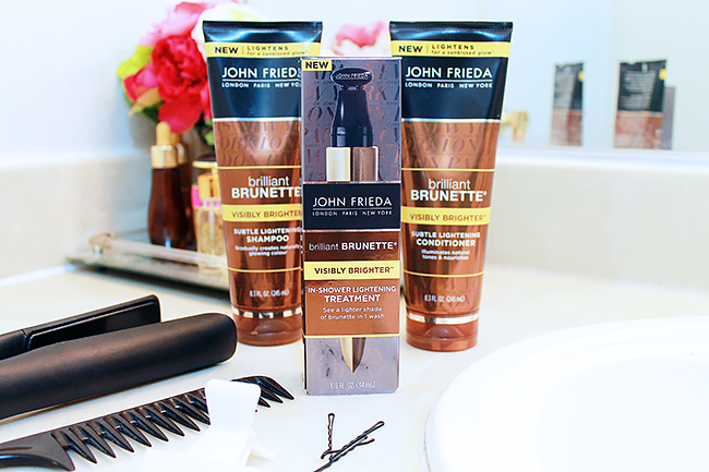 John Frieda Brilliant Brunette Visibly Brighter
