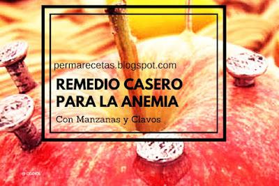 Remedio Natural con Manzanas y Clavos de Hierro