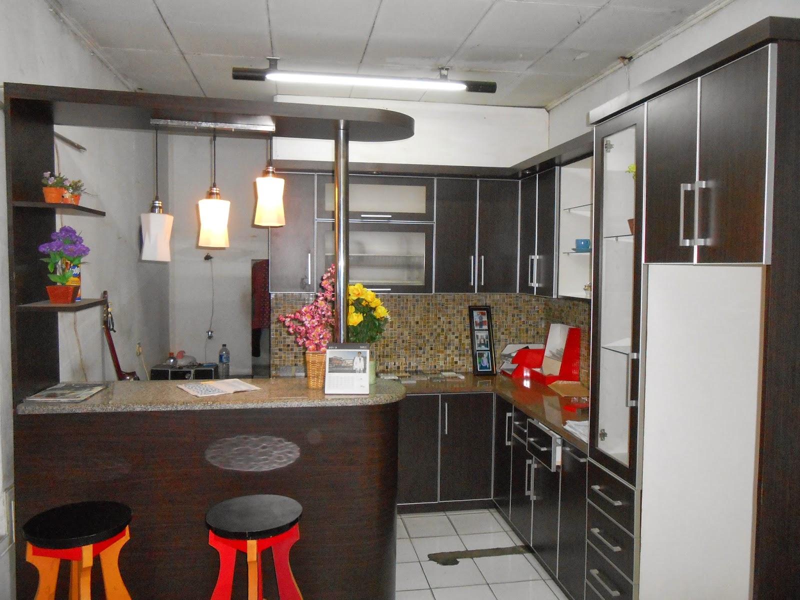 Desain Dapur Minimalis Mini Bar Arsihome