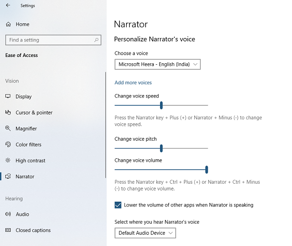 Personalisasi Narator Voice
