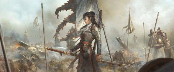 Ningbo Jiang artstation arte ilustrações fantasia ficção mulheres oriental