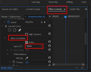 Tutorial Cara Menggunakan Luts di Adobe Premiere Pro CC √  Tutorial Cara Menggunakan Luts di Adobe Premiere Pro CC