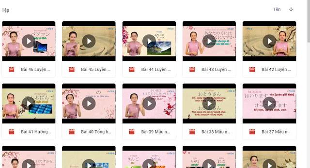 Chia sẻ  Kho video tự học tiếng Nhật  hay và hữu ích