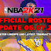 NBA 2K21 OFFICIAL ROSTER UPDATE 05.07.21 LATEST TRANSACTIONS+UPDATED LINEUPS