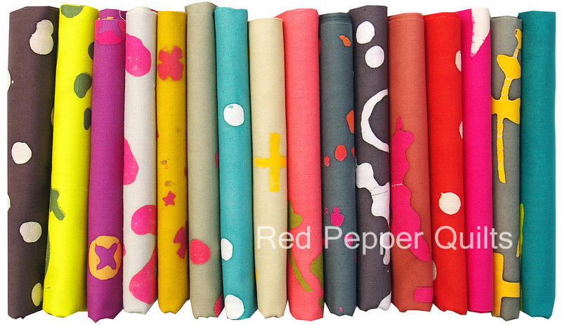 Handcrafted 2 by Alison Glass for Andover Fabrics | Red Pepper Quilts 2015