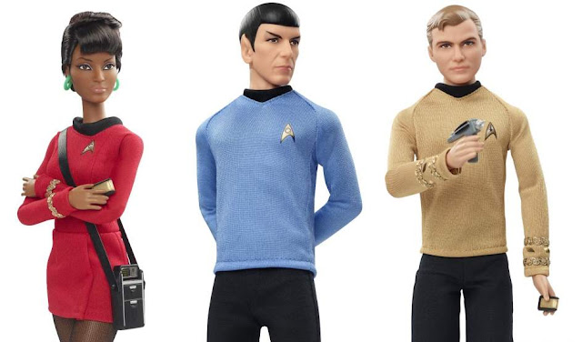'Star Trek' (Muñecos de Barbie)