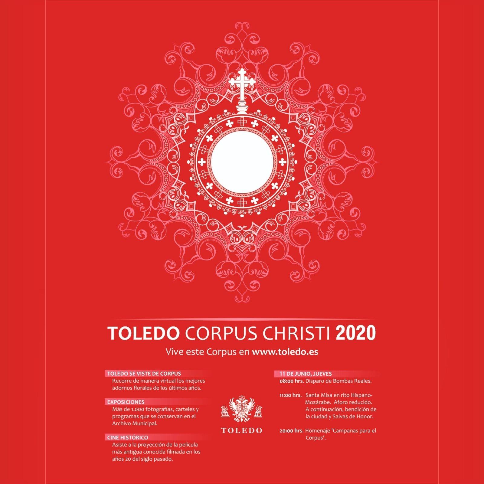 ACTIVIDADES CORPUS CHRISTI 2020 EN TOLEDO.