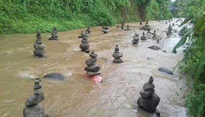 Terkuak, Misteri Tumpukan Batu Mirip Miniatur Keraton di Sukabumi