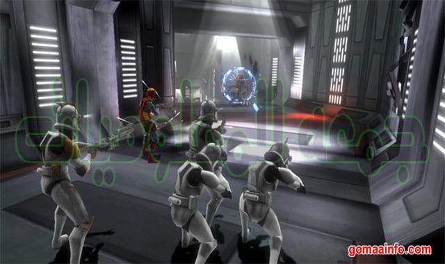 لعبة المغامرات والأكشن  Star Wars The Clone Wars Republic Heroes