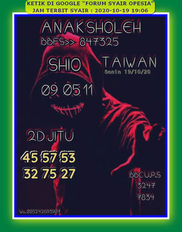 Kode syair Hongkong senin 19 oktober 2020 31