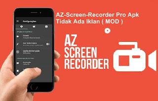 Hasil gambar untuk az screen recorder pro