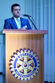 Rotary Club de Registro-SP empossa novo Presidente