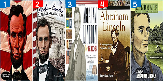 5 books about Abraham Lincoln for Presidents' Day