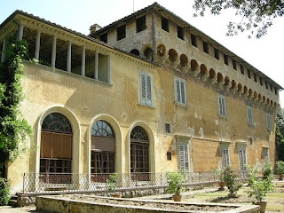 The Villa Careggi, where Lorenzo died in 1492