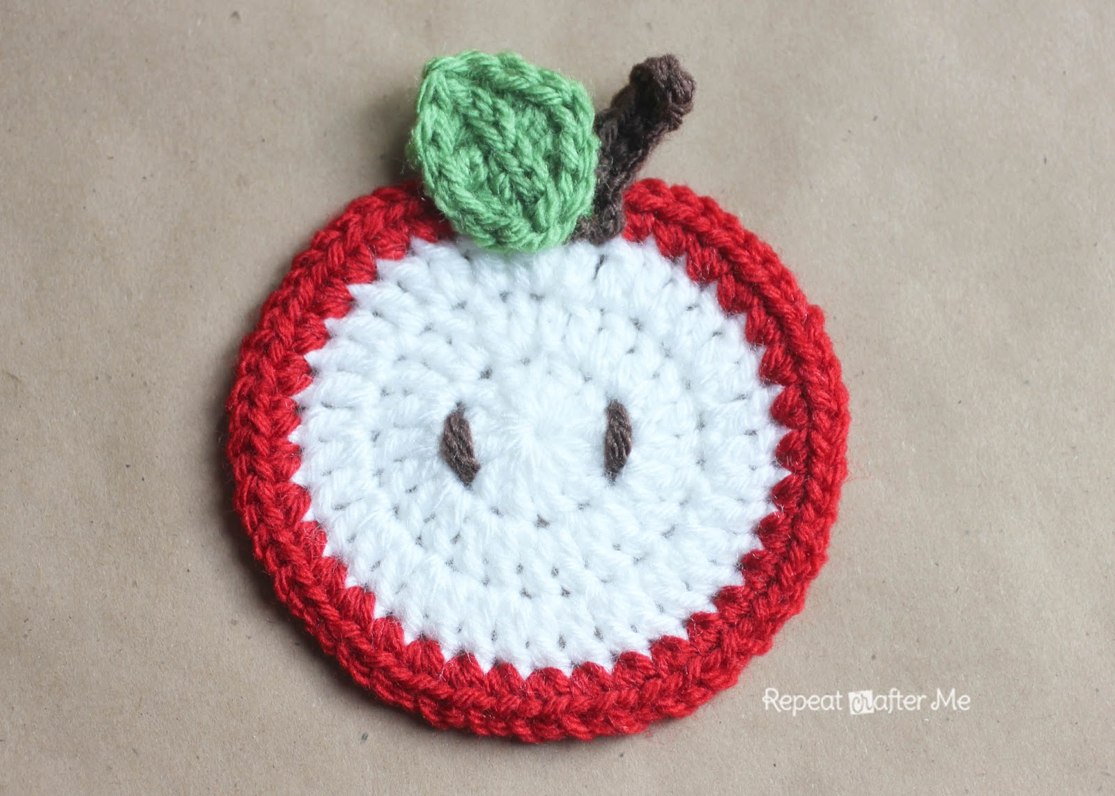 Crochet fruit coasters pattern repeat crafter me crochet fruit coasters pattern bankloansurffo Choice Image