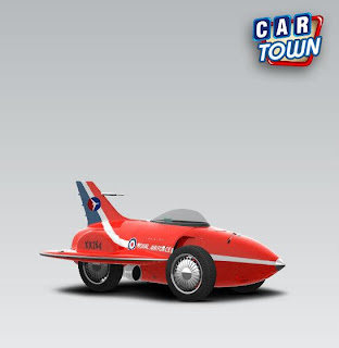 GM Firebird I 1953 Red Arrow