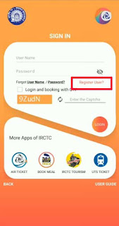 How to make irctc account