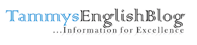 TammysEnglish Blog - English Learning, Article, Term Paper