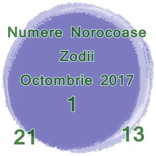 Numere Norocoase Zodii Octombrie 2017 de la Berbec la Pesti