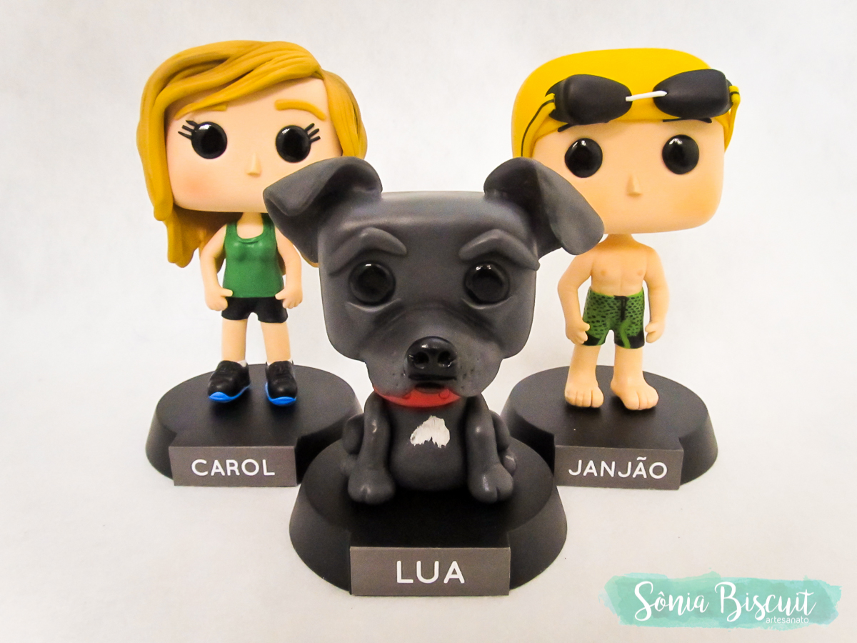 Sonia Biscuit, Biscuit, Funko, Funko Personalizado, Cachorro, Nadador, Corredora
