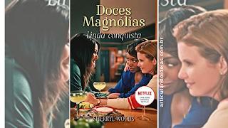 Capa divulgação livro doces magnólias