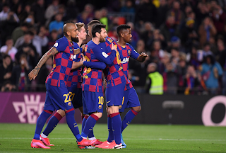 Barca 5-0 Leganes: Messi fires Blaugrana into Copa QFs on his 500th Barca win
