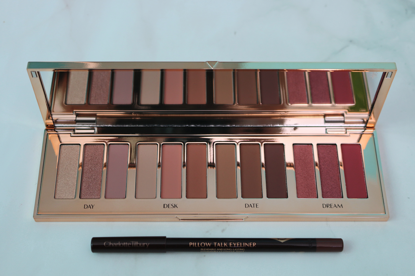 Charlotte Tilbury Pillow Talk Collection Instant Eye Palette Lip Cheat