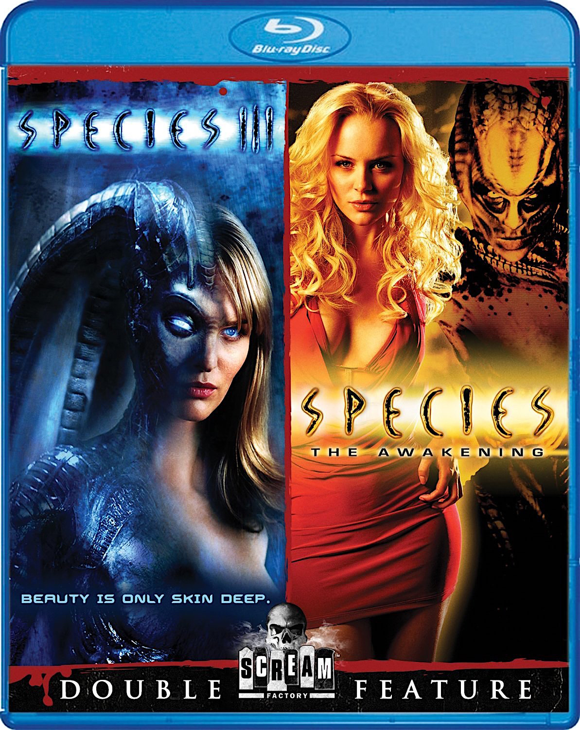 Blu-Ray And Dvd Covers Scream Factory Double Feature Blu -5227