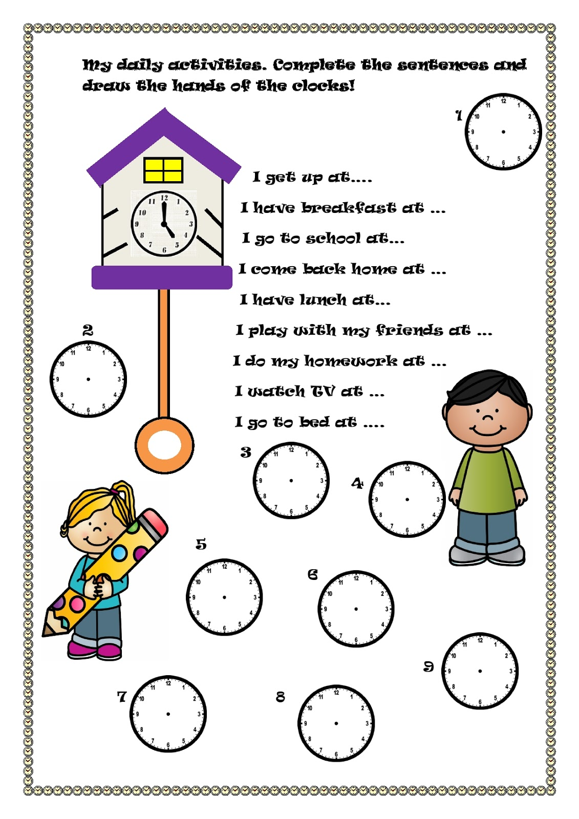 We Teach English What Time Is It