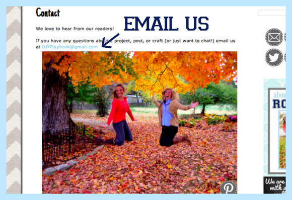 Use the contact page to email Casey and Bridget with questions.