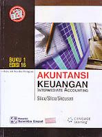 toko buku rahma: buku AKUNTANSI KEUANGAN INTERMEDIATE ACCOUNTING BUKU 1 EDISI 16, pengarang james, penerbit salemba empat