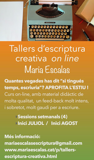 Tallers d'escriptura creativa on-line