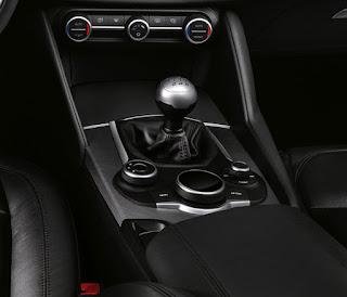 Alfa Romeo Giulia cambio